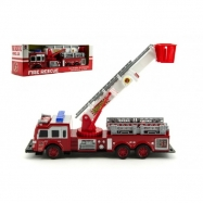 Auto hasiči plast 30cm na setrvačník v krabici