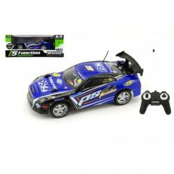 Auto RC 25 cm plast zrýchľujúce 1:18 na batérie 27 MHz