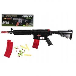 Pistolet maszynowy do wkładów piankowych z tworzywa sztucznego 68 cm M16 w pudełku