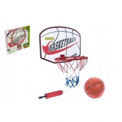 Basketbalový koš + míč s pumpičkou