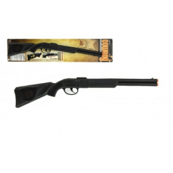 Pistole/Puška klapací plast 57cm na kartě