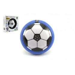 Air Disk futbalová lopta vznášajúce sa plast 14cm na batérie so svetlom v krabičke