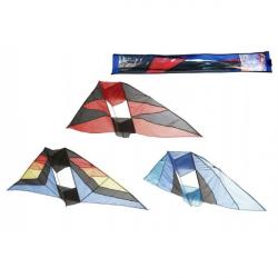 Drak lietajúci nylon 183x81cm asst 3 farby v sáčku