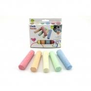 Kriedy farebné chodníkové 10,5x2,5x2,2cm 6ks v krabičke