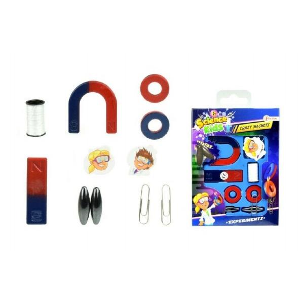 Magnety experimentální v krabičce 11x17x1cm