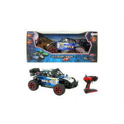 Auto RC buggy modrej plast 28 cm