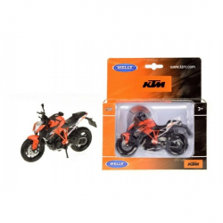 Motorka Welly KTM Super Duke R kov 12cm v krabičce