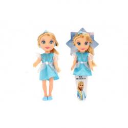 Lalka Księżniczka Ice Kingdom plastik 31 cm w stożku