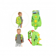 Batoh dinosaurus neopren zelený 28x30cm v sáčku