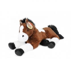 Kůň ležící plyš 60 cm