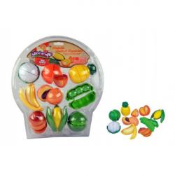 Krájecí ovoce a zelenina plast 28 ks na blistru