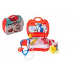 Sada doktor / lekár plast v plastovom kufríku 24x22x9cm v sáčku