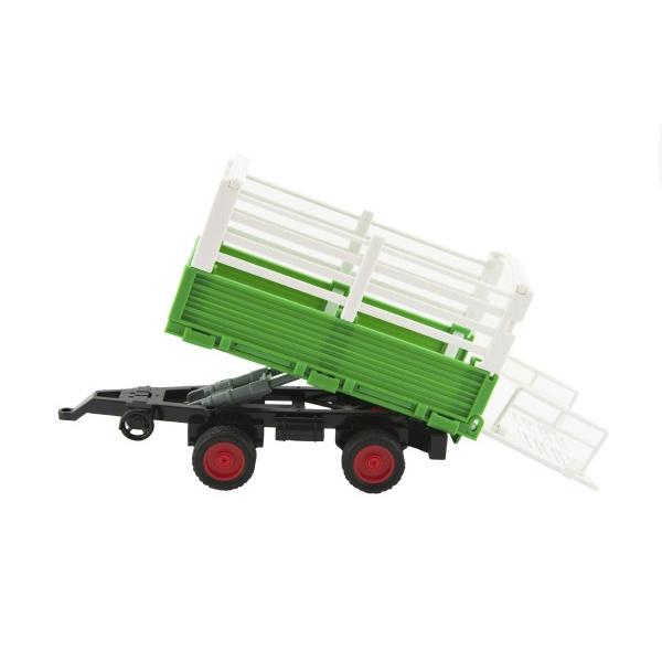 Ciągnik z plastikowym holownikiem 39 cm na akumulatorze z kołem zamachowym z dźwiękiem i światłem