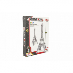 Stavebnica kovová Eiffelova veža 225 dielikov