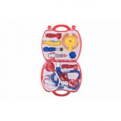 Sada doktor / lekár plast v plastovom kufríku v blistri 23x40x4cm