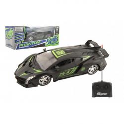 Auto sportovní RC plast 25cm 27MHz na dálkové ovládání na baterie