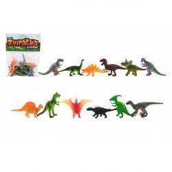 Zvieratká dinosaury mini plast 6-7cm 12ks v sáčku