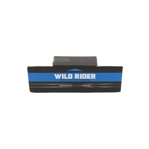 Auto RC terénne modré 39cm plast 2,4GHz na batérie + dobíjacie pack v krabici 46x21x27cm