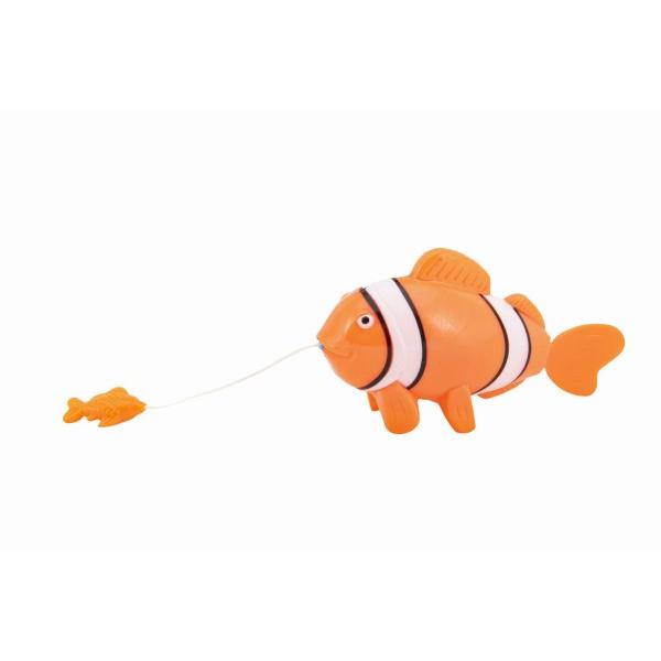 Zvieratko ryba na natiahnutie do vody plast 5x9x18cm 12ks v boxe