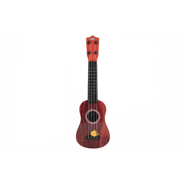 Ukulele / gitara plast 43cm s trsátka v krabičke 15x48x5cm