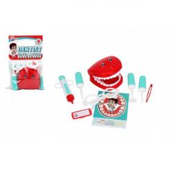 Sada doktor - lekár zubár plast 9 ks
