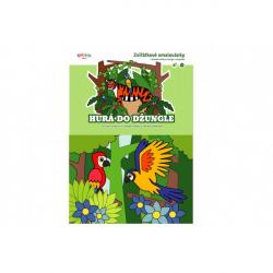 Omalovánky zvířátkové Hurá do džungle 21x15cm