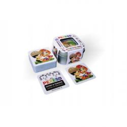 Pexeso zvyky a tradice voděodolné 64 karet v plechové krabičce 6x6x4cm Hmaťák