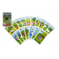 Čierny Peter Moje prvé zvieratká spoločenská hra - karty v plastovej krabičke MPZ 6x9cm