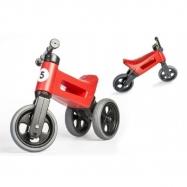 Rowerek biegowy dla dzieci FUNNY WHEELS Rider Sport 2w1, Ruby Red