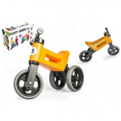 rowererek - jeździk Funny Wheels 2w1, pomarańczowy