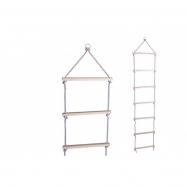 Povrazový rebrík drevený 200cm 7 priečok v krabici 21x48x11cm