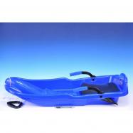 Plastikowa fasola Super Jet 85x42 cm niebieska w torbie