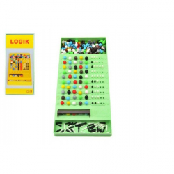 Logik společenská hra hlavolam v krabici 14x29x3cm