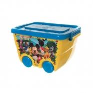 918742a19e9ec Box úložný na kolieskach Mickey Disney plast 40x25x32cm