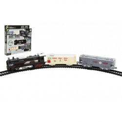Zestaw pociągów z szynami 13 szt plastikowy do akumulatorów