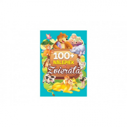 Kniha so samolepkami Zvieratá 100+ nálepiek SK verzia 21x30cm