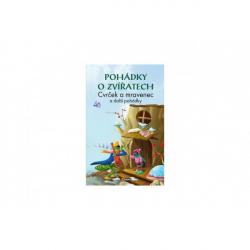 Kniha Pohádky o zvířatech Cvrček a mravenec CZ verze 15x22cm