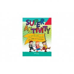 Pracovní sešit Superaktivity pro děti 3-5 let CZ verze 21x28cm
