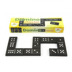 Domino Classic 28ks spoločenská hra plast v krabičke 21x6x3cm