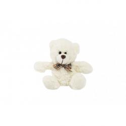 Medveď sediaci s mašľou plyš