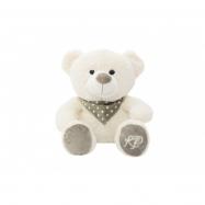 Medveď sediaci so šatkou plyš 35cm v sáčku 0+