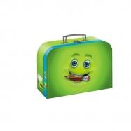 Szyta walizka Funny Faces twarz 25 x 18 x 9 cm