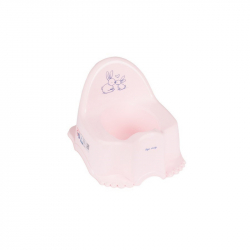 Hrající dětský nočník Bunny růžový