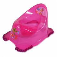 Dětský nočník protiskluzový aqua růžový