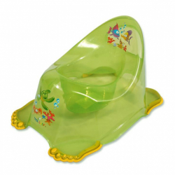 Detský nočník protišmykový aqua zelený