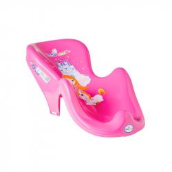 Lehátko na kúpanie Malá Princezná ružové
