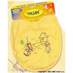 Podbradník Terjan veľký - žltý / krémový