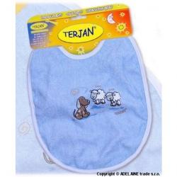 Podbradník Terjan stredný - modrý