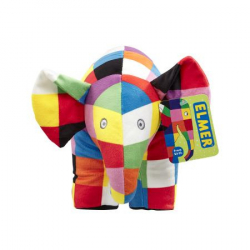Rainbow Plyšová hračka slon Elmer veľký