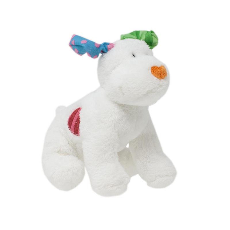 Rainbow Snowdog Plush Dog